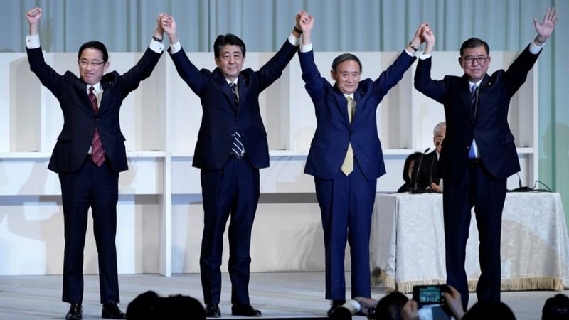 Ông Suga chính thức được chọn thay ông Abe làm Thủ tướng Nhật - ảnh 2