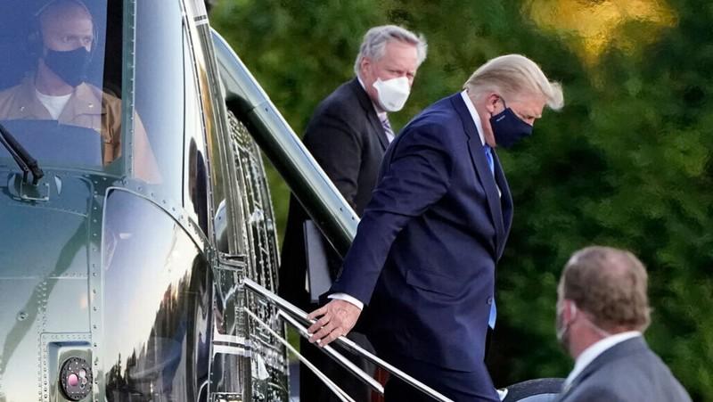 Trị COVID-19, ông Trump được kê bao nhiêu loại thuốc? - ảnh 1