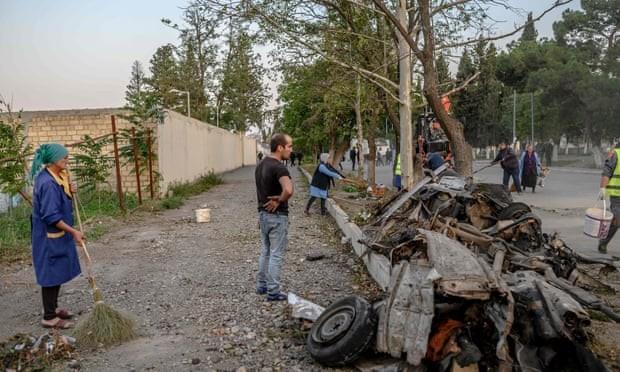 Armenia-Azerbaijan thống nhất ngừng bắn ở Nagorno-Karabakh - ảnh 1