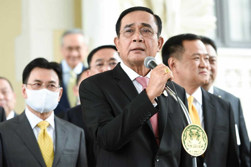 Thái Lan: Người biểu tình mang dù xuống đường như ở Hong Kong - ảnh 3