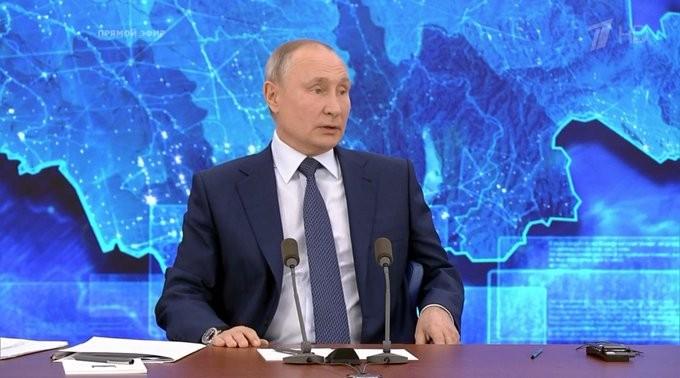 Ông Putin: Nếu Nga can thiệp, sao năm nay ông Trump thua? - ảnh 1