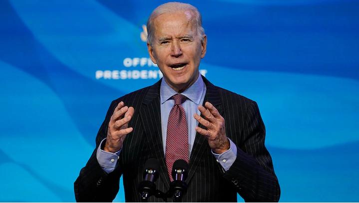 Ông Biden đề xuất gói chi tiêu khổng lồ 1.900 tỉ USD - ảnh 1