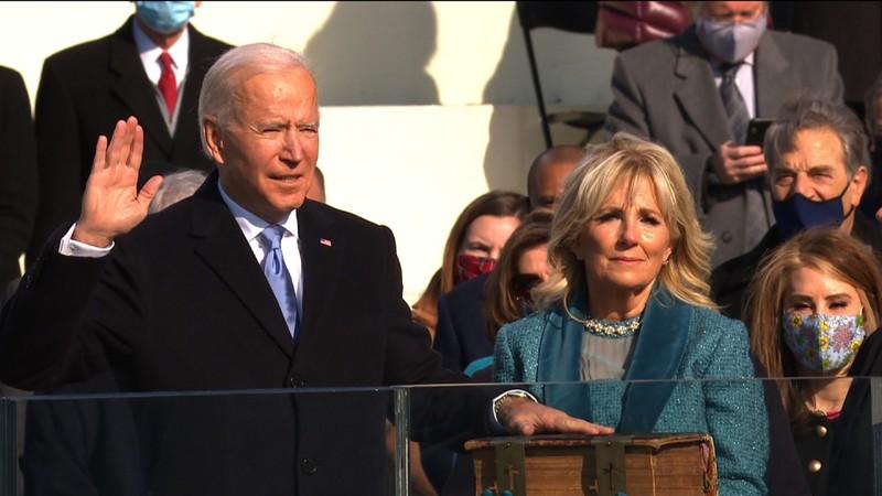 Trực tiếp: Ông Biden, bà Harris đã tuyên thệ nhậm chức  - ảnh 4