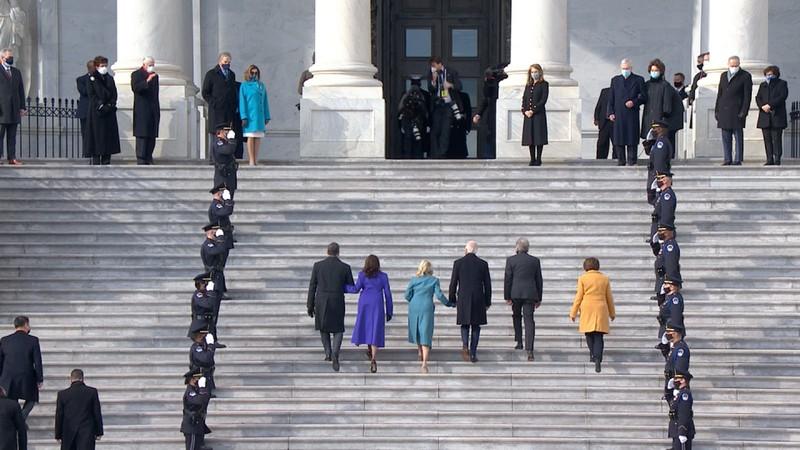 Trực tiếp: Ông Biden, bà Harris đã tuyên thệ nhậm chức  - ảnh 12