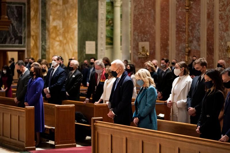 Trực tiếp: Ông Biden, bà Harris đã tuyên thệ nhậm chức  - ảnh 29