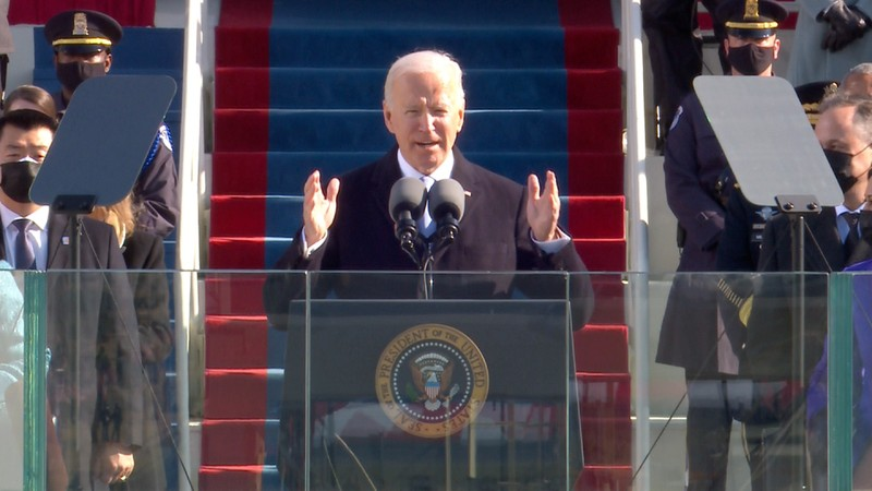 Trực tiếp: Ông Biden, bà Harris đã tuyên thệ nhậm chức  - ảnh 3