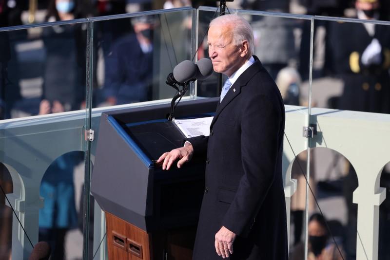 Trực tiếp: Ông Biden, bà Harris đã tuyên thệ nhậm chức  - ảnh 2