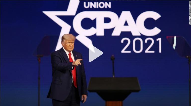 Tại CPAC, ông Trump bác lập đảng mới, đề cập tái tranh cử - ảnh 1