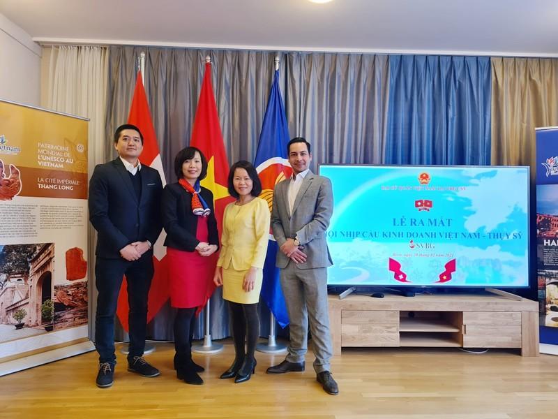 Hiệp hội nối kết kinh doanh VN-Thụy Sĩ lập ban đại diện tại VN - ảnh 2