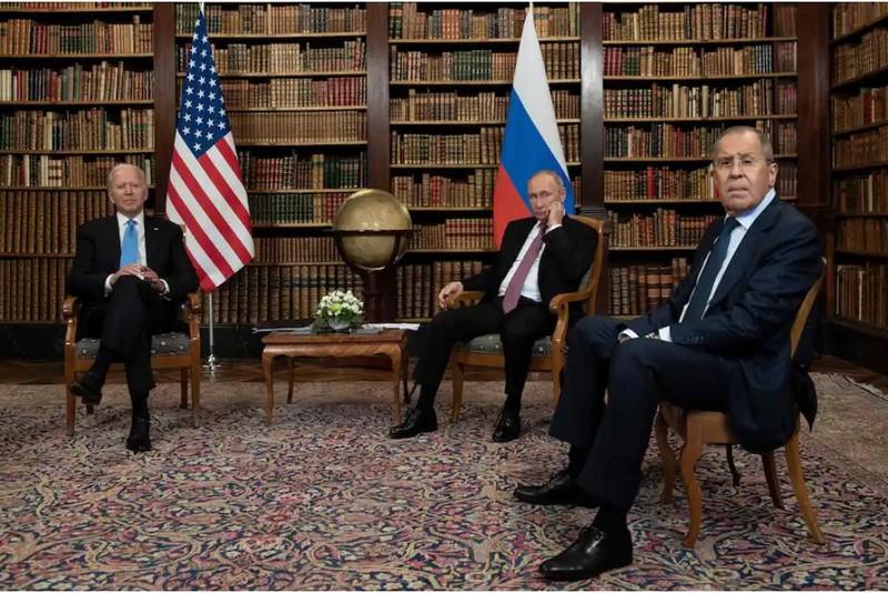 Ông Biden và ông Putin kết thúc vòng đối thoại đầu tiên, bước vào vòng 2 - ảnh 1
