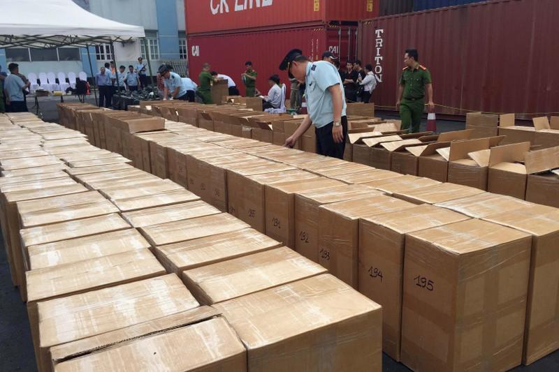 Bắt giữ 2 tấn lá khát nhập lậu vào cảng Hải Phòng - ảnh 2