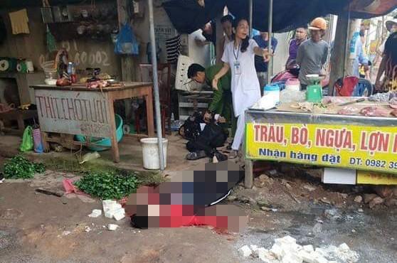 Cô gái bán đậu phụ bị bắn tử vong giữa chợ - ảnh 1