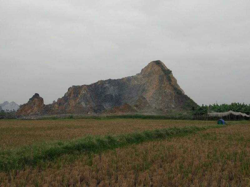 Sạt mỏ khai thác đá ở Hải Phòng, 2 công nhân thương vong - ảnh 1