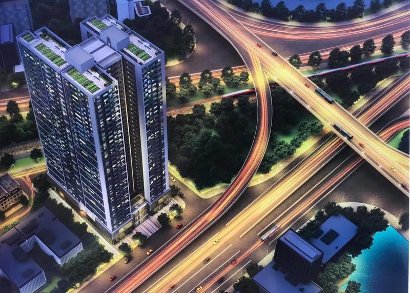 Xây dựng khu căn hộ cao cấp 37 tầng tại cửa ngõ Hải Phòng - ảnh 1