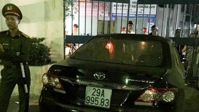 Tạm dừng nhiệm vụ trưởng Ban Nội chính Thái Bình gây tai nạn  - ảnh 1