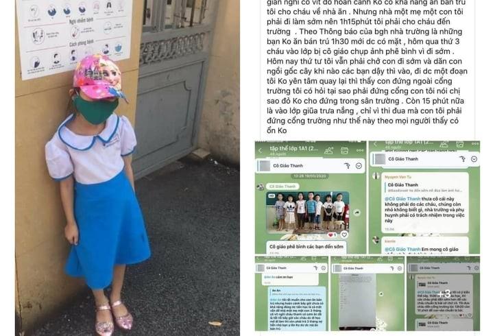 Xem xét trách nhiệm cô giáo, nhà trường vụ học sinh đi học sớm - ảnh 2