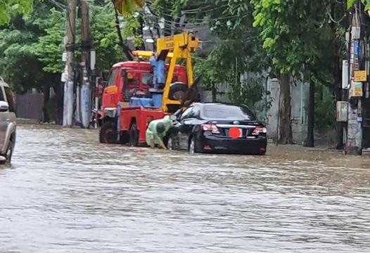 Mưa lớn gây ngập cục bộ nhiều nơi ở Quảng Ninh  - ảnh 5