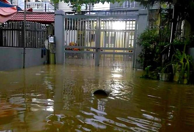 Mưa lớn gây ngập cục bộ nhiều nơi ở Quảng Ninh  - ảnh 3