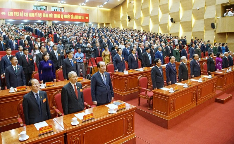 Khai mạc Đại hội Đảng bộ TP Hải Phòng nhiệm kỳ 2020-2025 - ảnh 1