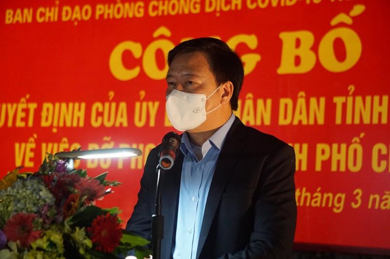 Tâm dịch Chí Linh được gỡ bỏ phong tỏa trong đêm - ảnh 1