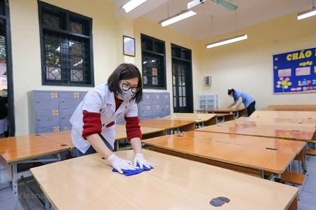 Sau dịch COVID-19, Hải Dương cho HS  đi học trở lại từ 18-3 - ảnh 1