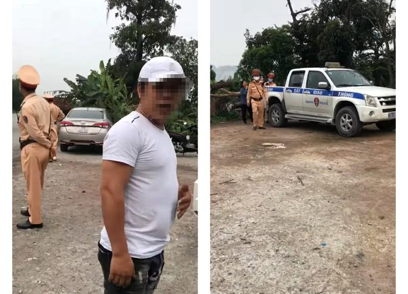Thanh niên bị đe dọa sau khi ghi hình CSGT làm nhiệm vụ - ảnh 1