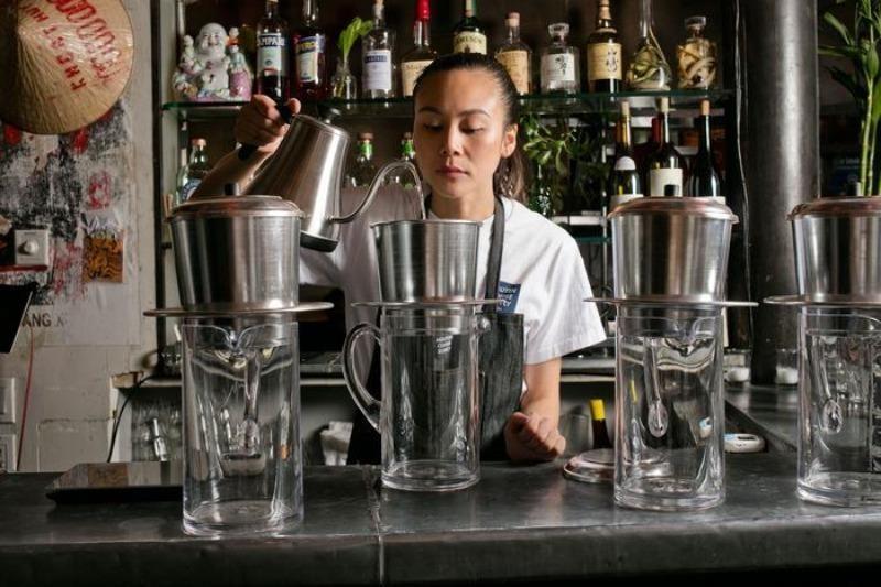 Nữ doanh nhân mở quán cà phê 'độc, lạ' Việt Nam ở New York  - ảnh 1
