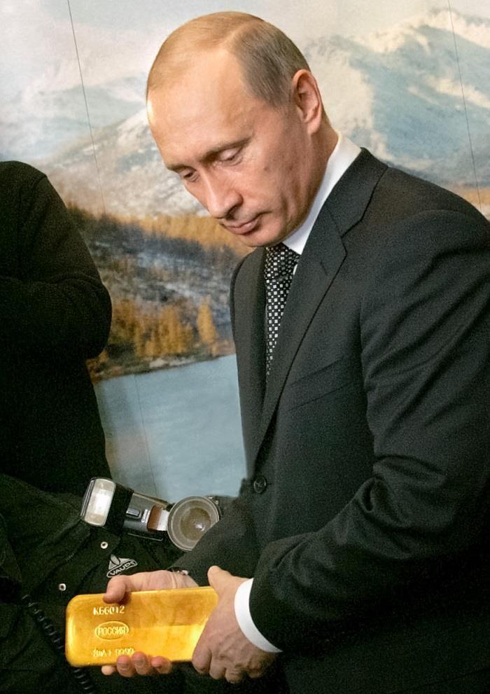 Bí mật về pháo đài trữ vàng của Tổng thống Putin - ảnh 1
