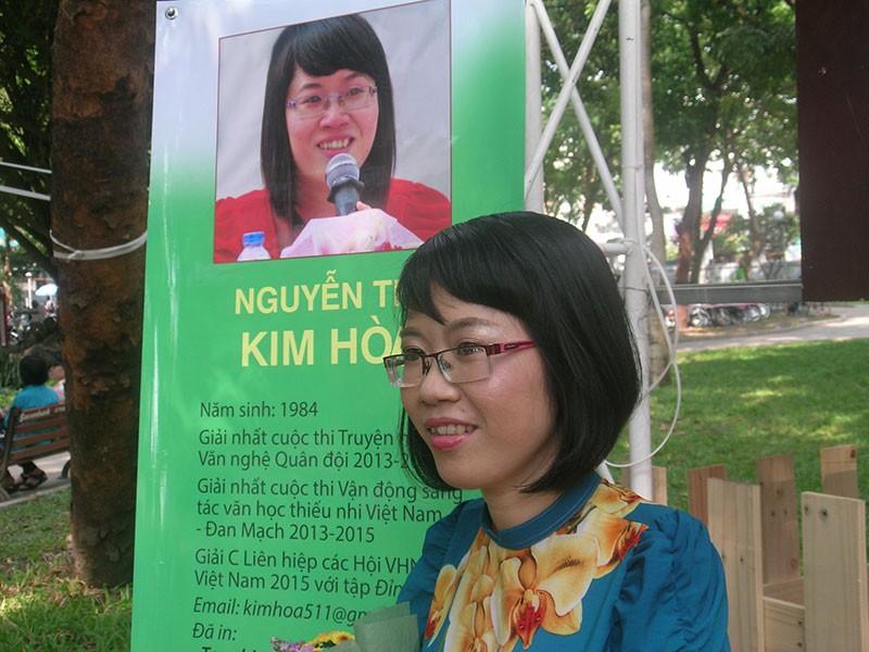 Nhà văn trẻ Kim Hòa: Hoa xương rồng vững chắc giữa sa mạc - ảnh 3