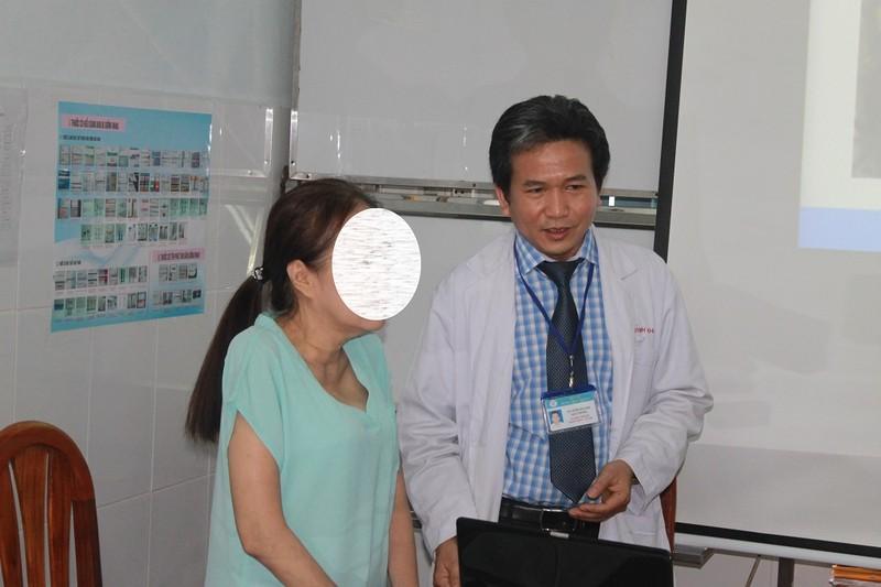 Một phụ nữ bị bệnh lạ lần đầu gặp tại Việt Nam - ảnh 1