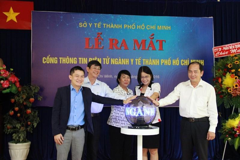 Ra mắt cổng thông tin điện tử ngành y tế TP.HCM - ảnh 2