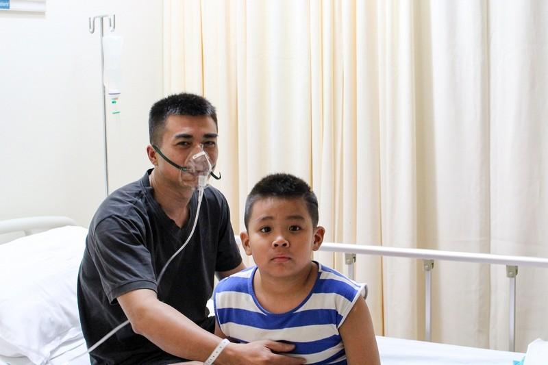 Gần 90 người nhập viện do vụ cháy chung cư Carina - ảnh 1