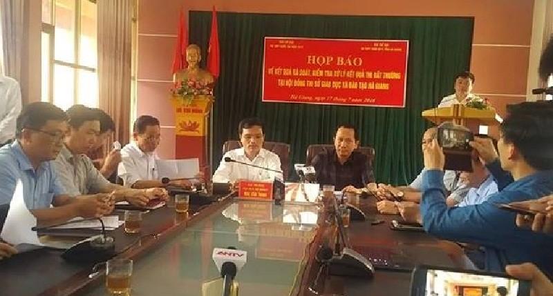 Điểm thi tại Hà Giang được nâng khống tinh vi ra sao? - ảnh 1