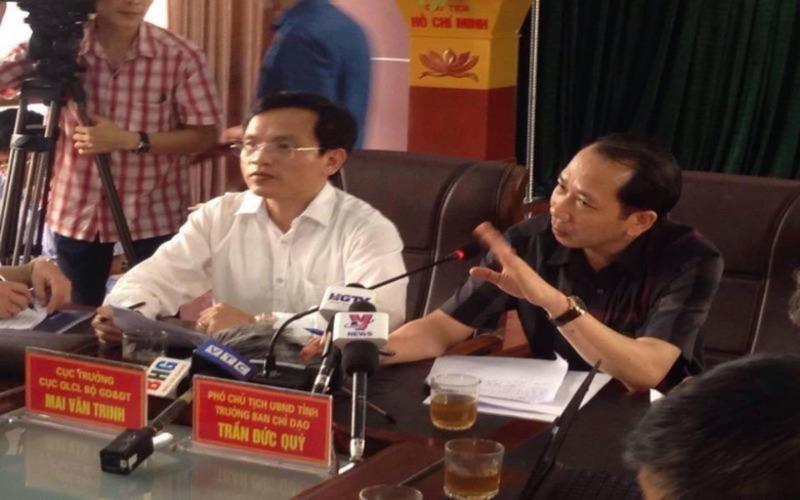 Công bố chấn động về gian lận điểm thi THPT ở Hà Giang - ảnh 1