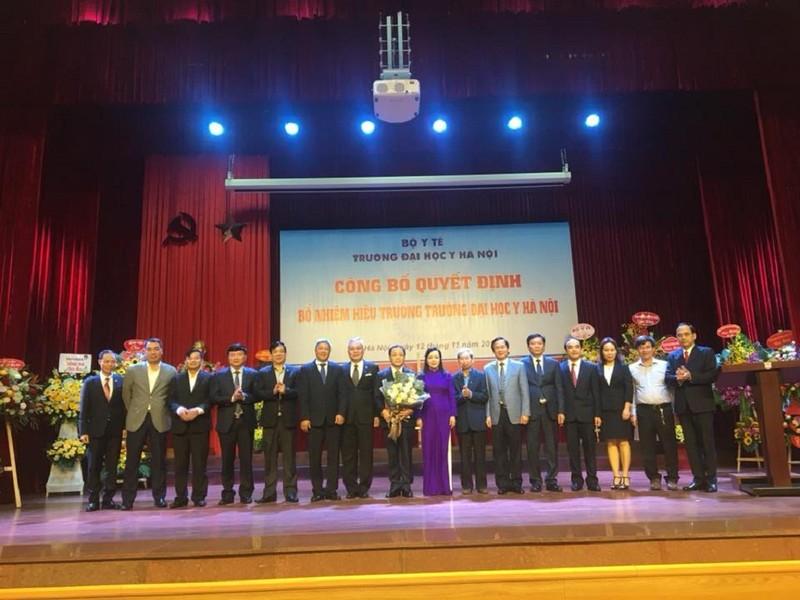 GS-TS-BS Tạ Thành Văn làm hiệu trưởng ĐH Y Hà Nội - ảnh 1