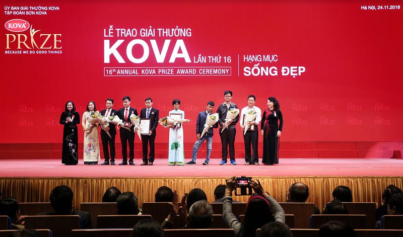 Nhiều công trình ý nghĩa được vinh danh ở giải thưởng KOVA 16 - ảnh 1