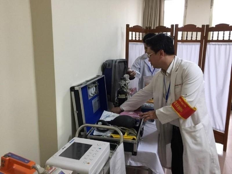 Tác nghiệp thượng đỉnh Mỹ-Triều, 1 phóng viên Thái Lan cấp cứu - ảnh 1