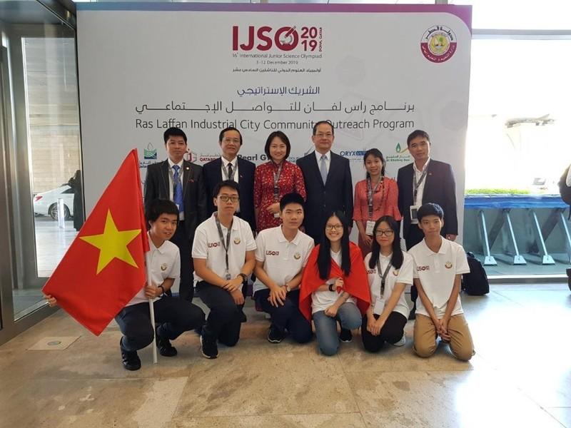 Việt Nam giành 3 HCV Olympic Khoa học quốc tế - ảnh 1