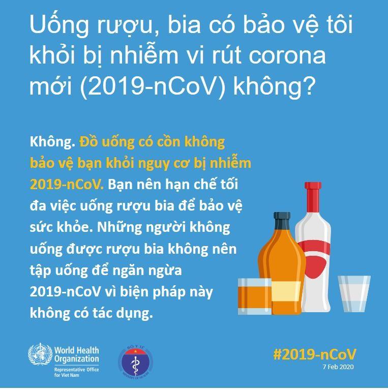 Uống nhiều rượu bia có thể ngừa được virus Corona? - ảnh 4