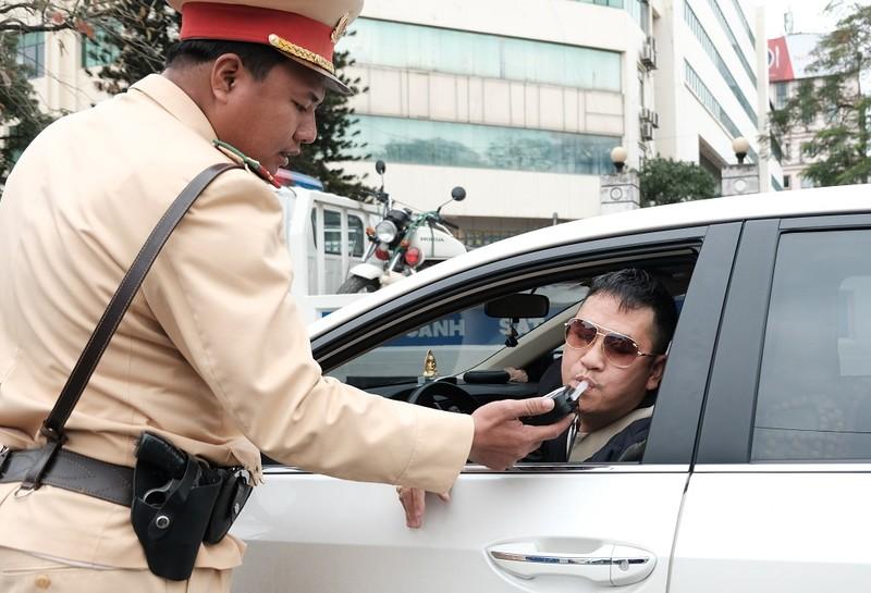 Tổng kiểm soát giao thông: Gần 9.000 xe vi phạm bị xử lý - ảnh 1