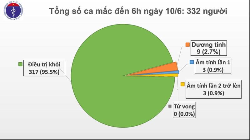 Việt Nam còn 9 ca dương tính COVID-19, BN91 làm nên kỳ tích - ảnh 1