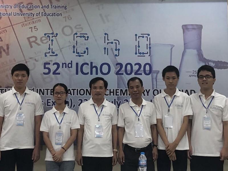 4 học sinh Việt Nam đoạt HCV tại Olympic Hóa học quốc tế - ảnh 1