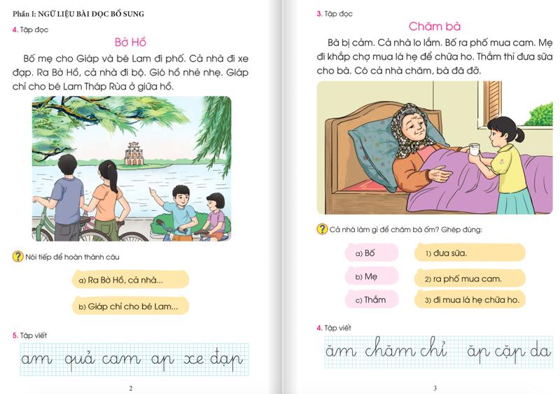 Công bố dự thảo tài liệu chỉnh sửa SGK Tiếng Việt 1 Cánh diều - ảnh 4
