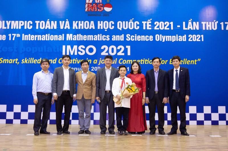 Việt Nam giành 2 Huy chương Vàng Toán và Khoa học - ảnh 1