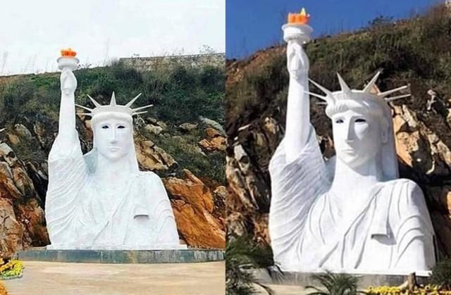 Tượng 'nữ thần tự do đột biến' ở Sa Pa: Lập đoàn kiểm tra - ảnh 1
