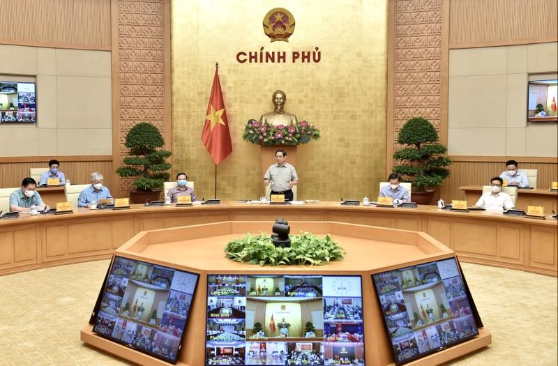 Thủ tướng: Cố gắng đến 30-9 từng bước nới lỏng để khôi phục kinh tế-xã hội - ảnh 1