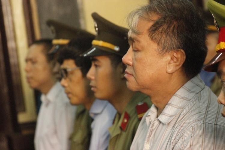 Phạm Công Danh và các đồng phạm tại phiên xử