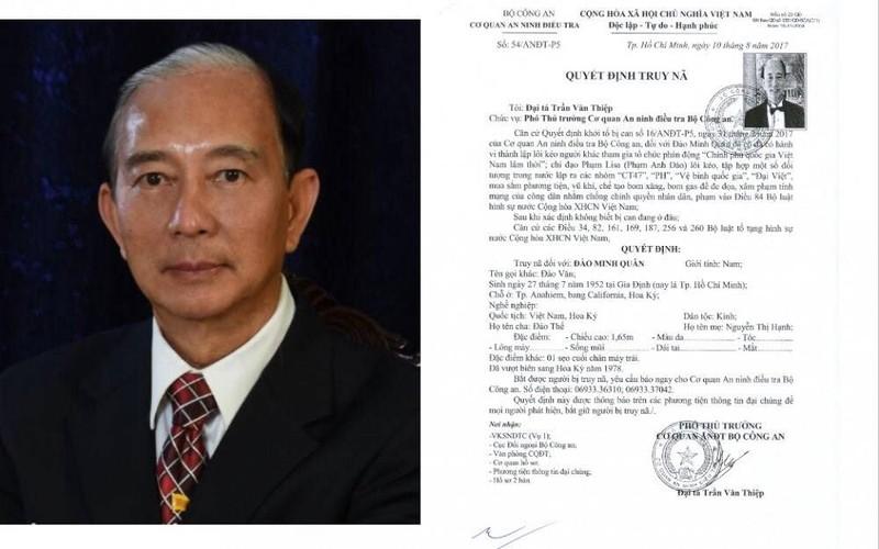 Xét xử 12 người thuộc tổ chức phản động Đào Minh Quân - ảnh 1