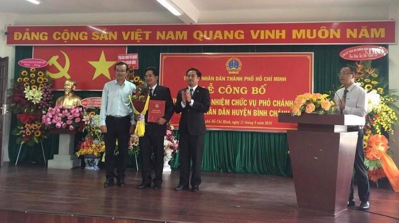Nhân sự mới huyện Bình Chánh, TP.HCM - ảnh 1