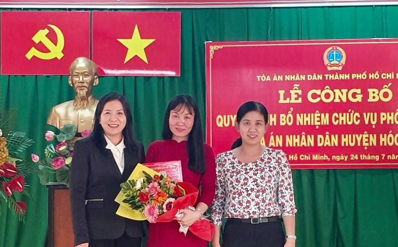 Nhân sự mới huyện Hóc Môn, TP.HCM - ảnh 1